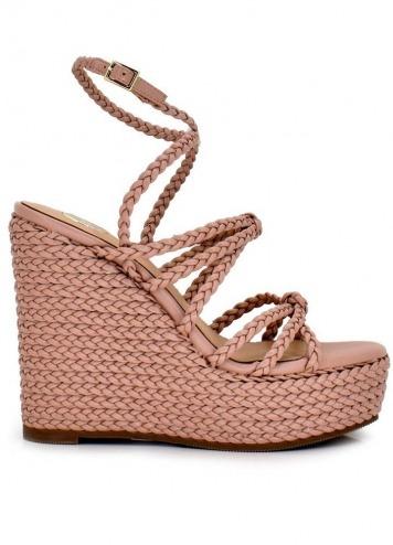 Sandalia Naomi Woven Pink