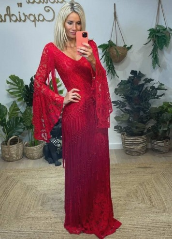 Vestido Nueva York Rojo