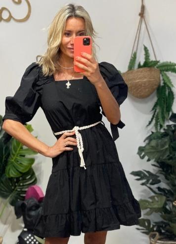 Vestido Escate Negro