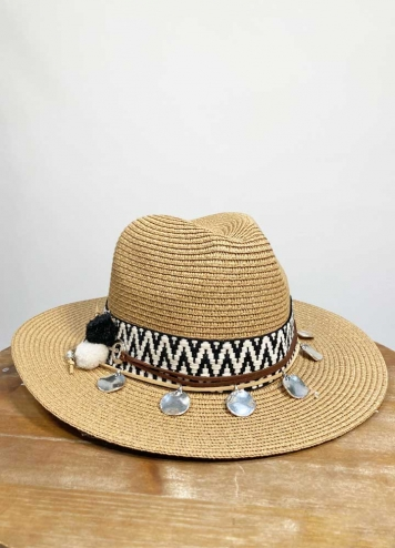 Sombrero monedas plata