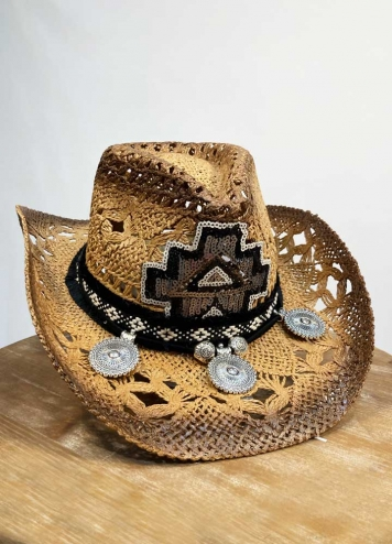 Sombrero detalles lentejuelas