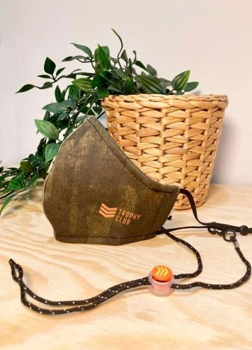 Mascarilla Trophy Militar Verde