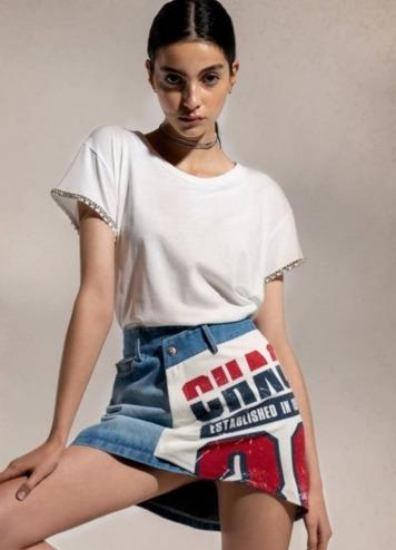 Falda Mixin it Up Skirt