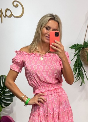 Top Veria Ziba Pink