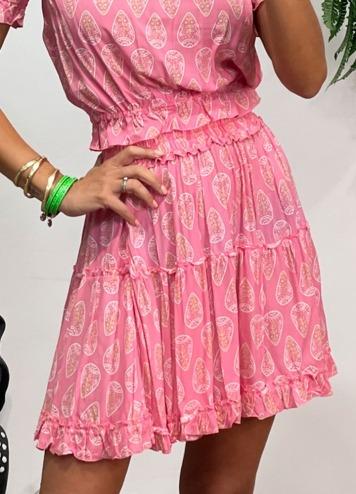 Falda Veria Ziba Pink