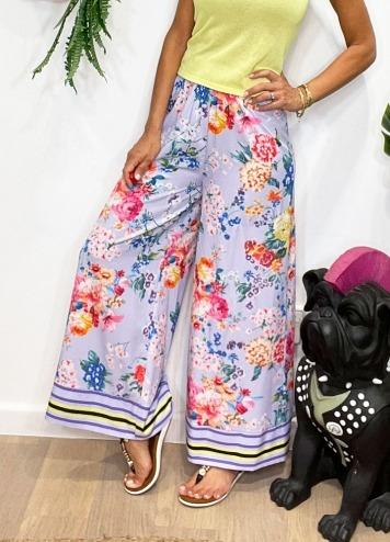 Pantalones Fiore Malva