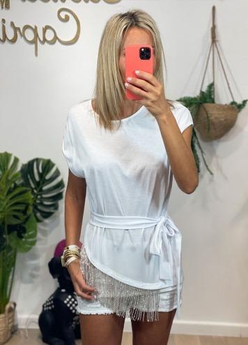 Camiseta Kampala Blanca