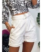 Short Alejandría Blanco