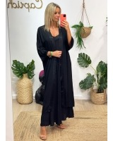 Kimono Lea Negro