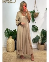 Kimono Lea Camel