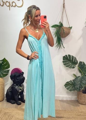 Vestido Amadís Azul