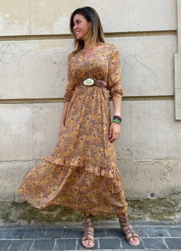 Vestido Vifalia Ancle