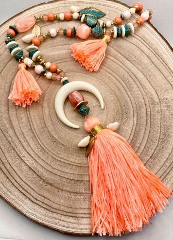Collar Hupa Coral