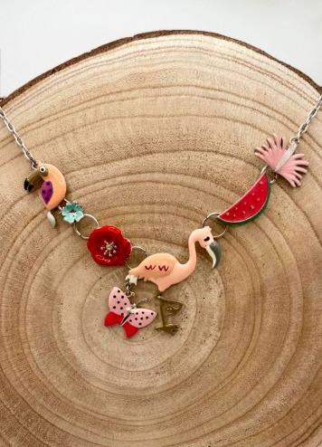 Collar Flamingo