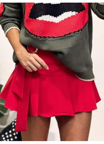 Shorts Arezzo Rojo