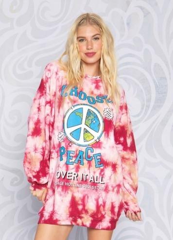 CHOOSE PEACE DRESS